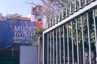 la Thyssen en obras
